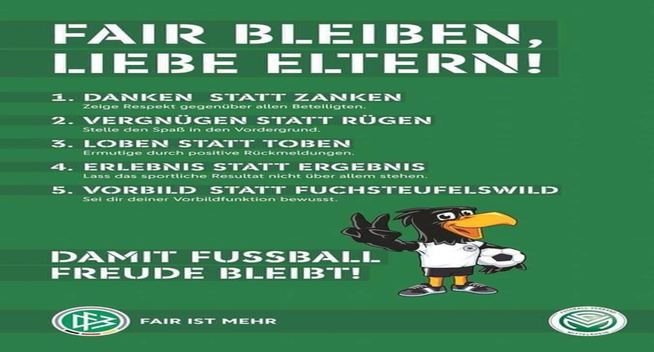 Fair Play Tage 2018 - Damit Fussballfreude bleibt